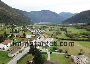Large building plot in Claro (Ticino, CH)